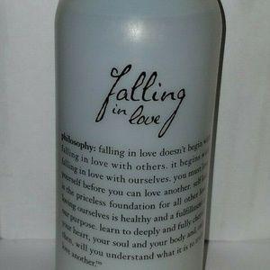 Philosophy Falling In Love Shampoo, Bath Gel 32oz